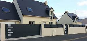 Portail De Maison : fabricant de portail sur mesure et claustra alu en france ~ Premium-room.com Idées de Décoration