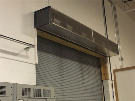 Berner Air Curtain Troubleshooting by Air Curtain For Garage Door Decorate The House With