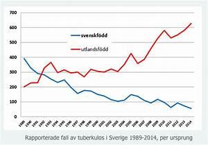 Antal Fall Av Tuberkulos  U00f6kar I Sverige  U2013 Tuberkulos Se