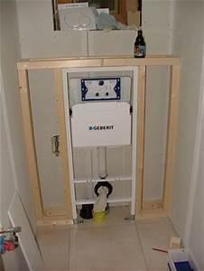 Pose Wc Suspendu Grohe : installation wc suspendu ~ Dailycaller-alerts.com Idées de Décoration