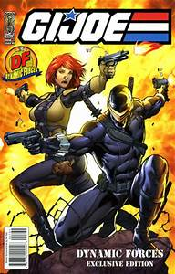 DYNAMIC FORCES® - GI JOE #1 DF EXCLUSIVE COVER - SIGNED BY ...
