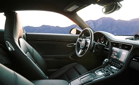 porsche carrera interior 2017 2017 porsche 911 turbo cars exclusive videos and photos