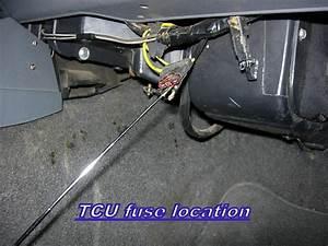 Transmission Issues  Starts In 3rd  Tps Tcu Tcu Fuse