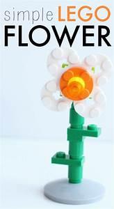 Simple LEGO Flower Pinterest Gardens Lego And Tutorials