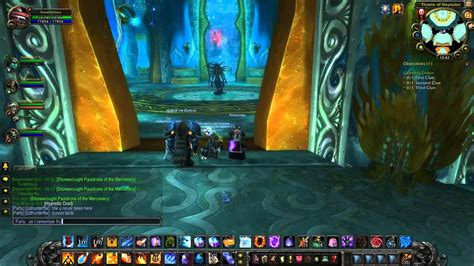 wow cataclysm guide heroic throne  tides part  youtube