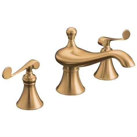 kohler revival 2 handle deck mount roman tub faucet trim