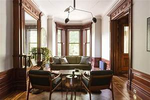 Brilliant renovation of a five-story New York City townhouse