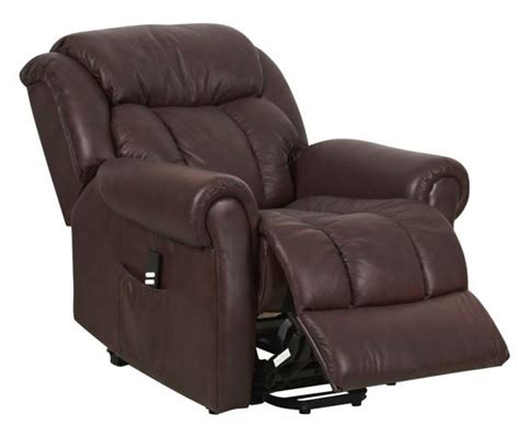 warminster dual motor leather riser recliner chair