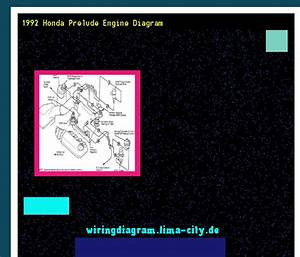 1992 Honda Prelude Engine Diagram  Wiring Diagram 185555