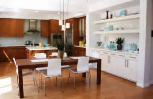 kitchen dining ideas tips for combining kitchen and dining room beautiful homes design