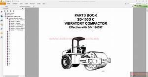Ingersoll Rand Vibratory Compactors Sd-100d C Parts Manual