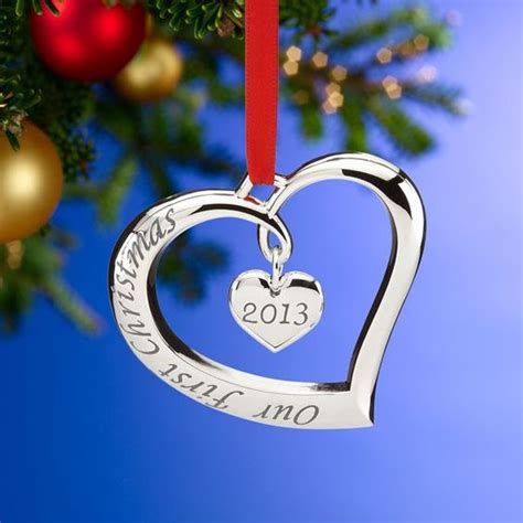 2013 our first christmas together ornament by lenox christmas pinterest wedding ornaments