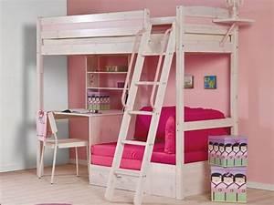 Lit Bureau Fille : bureau mezzanine en 56 id es inspirantes ~ Teatrodelosmanantiales.com Idées de Décoration