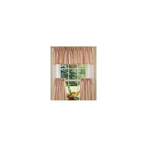 Woven Stripe Tier Curtains   Curtain Drapery.com