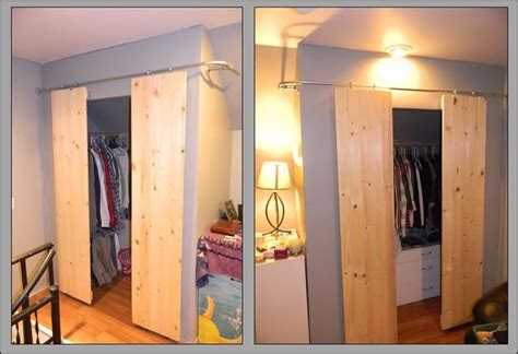 Closets With Sliding Barnstyle Doors