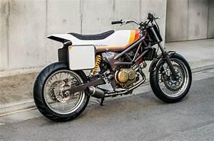 Racing Caf U00e8  Honda Vtr 250  U0026quot South Paw U0026quot  By Deus