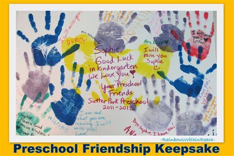 www rainbowswithinreach 786 | Preschool Friendship Keepsake