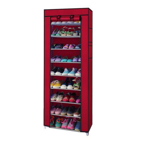 Closet Shoe Racks by New Portable Shoe Rack Shelf Storage Closet Organizer