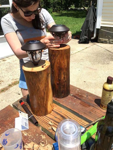 how to make outdoor solar lights stump solar lights hometalk