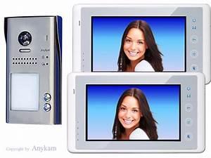 Farb Video Türsprechanlage : farb video t rsprechanlage in 2 draht technik f r 2 familienhaus mit 178 weitwinkelkamera 2 ~ Sanjose-hotels-ca.com Haus und Dekorationen