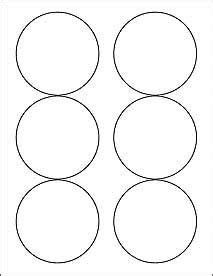 sheets    blank white  circle stickers