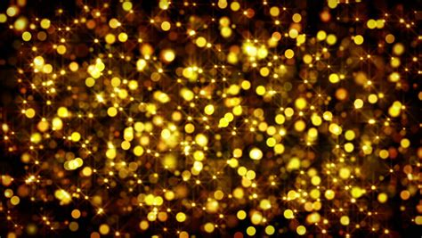 Abstract Black And Gold Background Png by Gold Bokeh Circles And Computer Generated Loopable