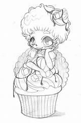 Yampuff Deviantart Chibi Coloring Butter Peanut Fudge Fairy Anime Kawaii Ausmalen Ausmalbilder Zeichnungen Gemerkt Drawings Viatico sketch template