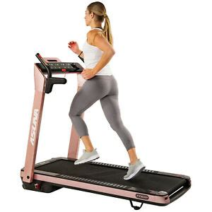 Sunny Health and Fitness ASUNA SpaceFlex Motorized Running ...