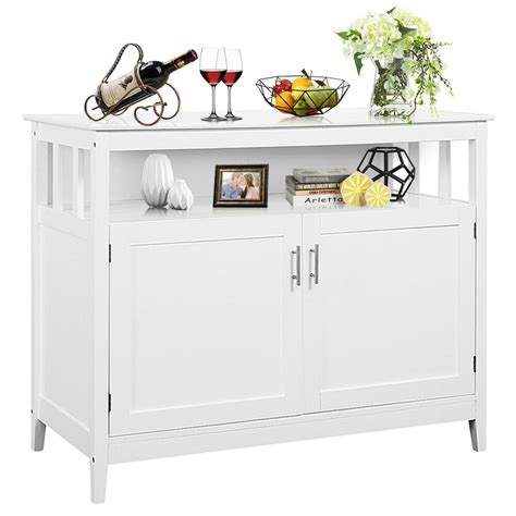 modern kitchen storage cabinet buffet server table