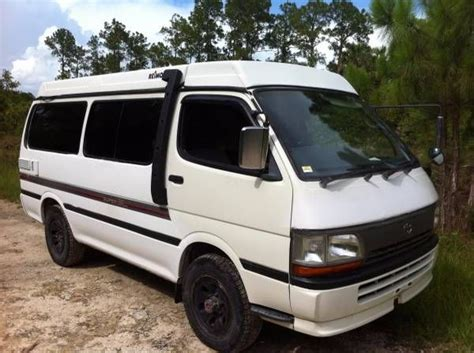 Toyota Hiace Usa by 1990 Toyota Hiace 4x4 Cer For Sale In Usa