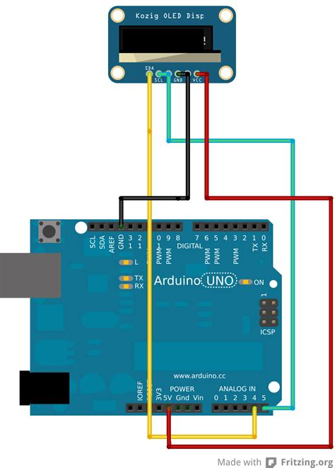 netsensor step 2 how to connect arduino to an oled