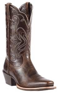 Punchy Ariat Square Toe Western Boots
