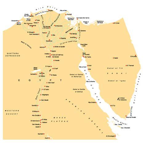 aegypten landkarte mit staedten deutschland karte