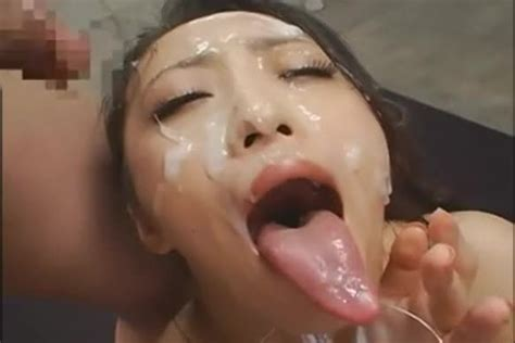 Long Tongue Japanese Bukkake Shizuka Kanno
