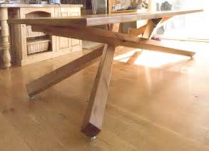 Mid Century Cabinet Hardware by Hand Crafted Dining Table By Terry S Fine Woodworking