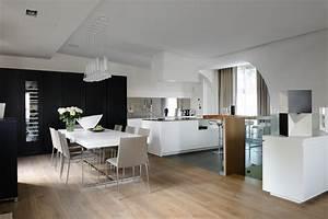 salle a manger triplex lyon confluence With architecture d interieur moderne
