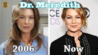 grey s anatomy then and now 2017