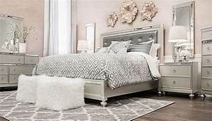 Glam 6 Piece Collection King Home Zone Furniture Bedroom