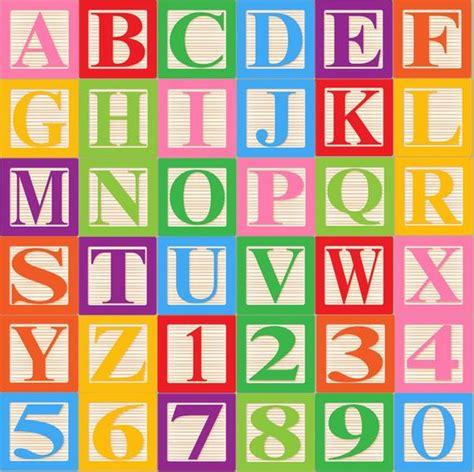 baby blocks alphabet font clip art clipart commercial