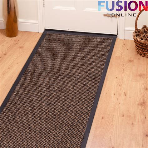 Brown Rubber Door Mat by Heavy Duty Non Slip Rubber Barrier Mat Large Small Rugs