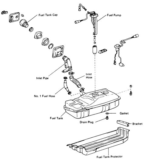 95 F150 Fuel Tank Diagram by Repair Guides Fuel Tank Tank Assembly Autozone