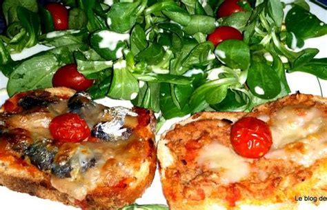recette bruschetta au thon  aux sardines