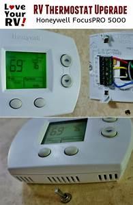 Rv Thermostat Upgrade Honeywell Focuspro 5000