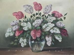 ölgemälde Blumen In Vase : lgem lde flieder strauss vase design blumen lbild stilleben in kirkel kunst gem lde ~ Orissabook.com Haus und Dekorationen