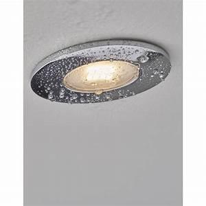 Kit 1 spot fixe à encastrer LED Integra, 5 5W, aluminium, INSPIRE Leroy Merlin