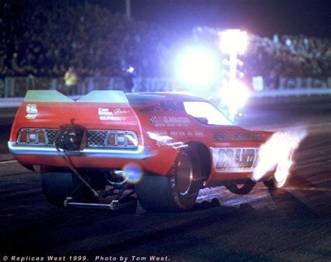Photos Of Invader Mustang Funny Car  Brand X Mustang