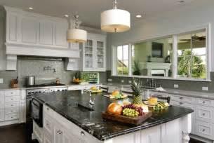 white kitchen cabinets ideas for countertops and backsplash titanium granite white cabinets backsplash ideas