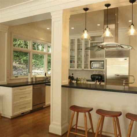 kitchen island with columns kitchen remodel ideas house interior design