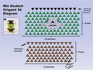Origami 3d   2d Origami Bear Tutorial