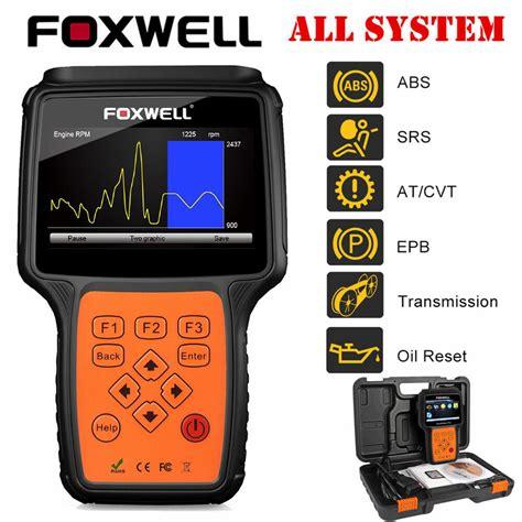 car scanner pro foxwell nt624 pro automotive obd2 system diagnostic scan tools code scanner ebay